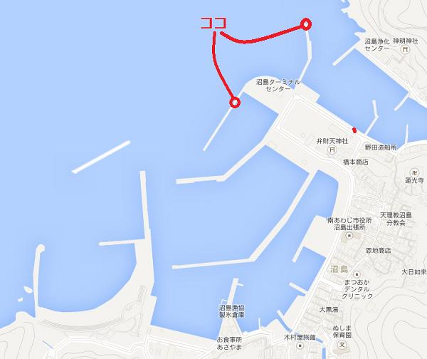 沼島釣りポイント