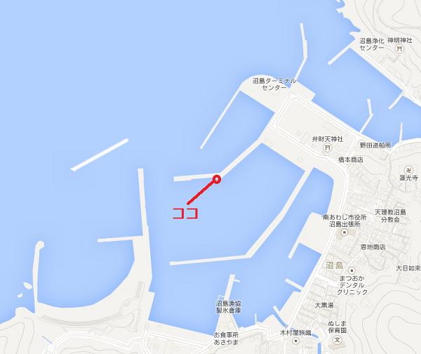 沼島の釣りポイント
