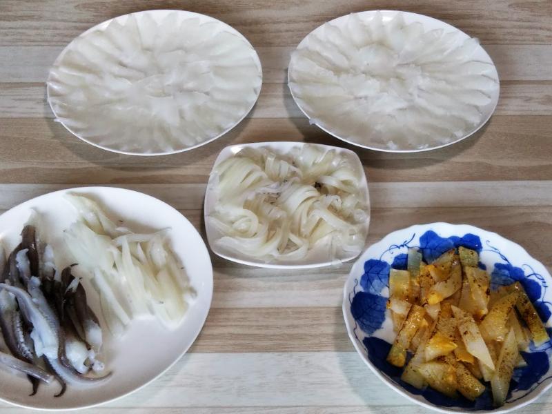 アオリイカ料理